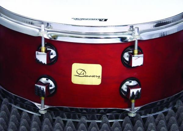 DIMAVERY DS-515 Rumpusetti, Punainen, Drum Set 5pcs. red