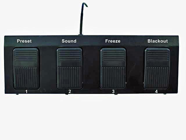 EUROLITE FP-1 Jalkaohjain KLS sarjan LED-valoille
