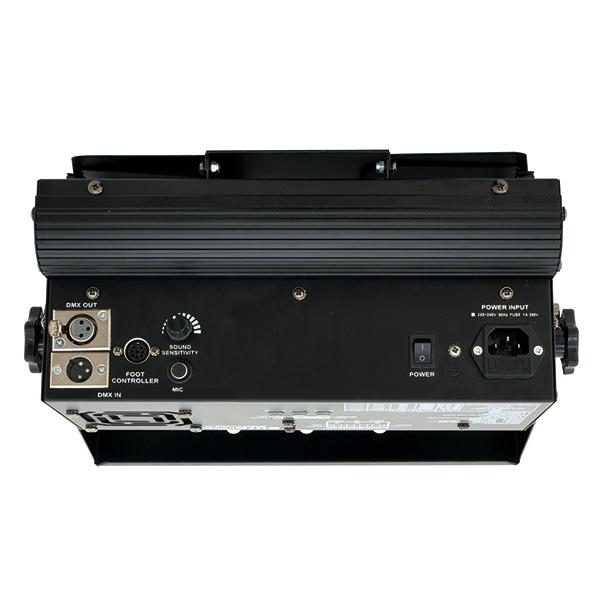 EUROLITE LED FLD-63 RGB 63x 1W Flood Light, Compact LED complete lighting system. Todella jyrkkä LED Flood, jota voi ohjata myös jalka ohjaimella .