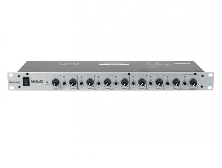 OMNITRONIC MLM-81 Microphone line mixer , discoland.fi