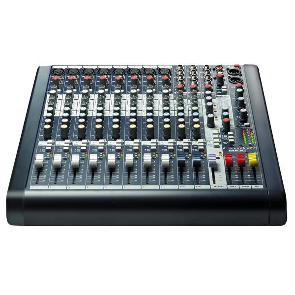 SOUNDCRAFT MFXi8 PA mikseri 8 mono- ja 2, discoland.fi