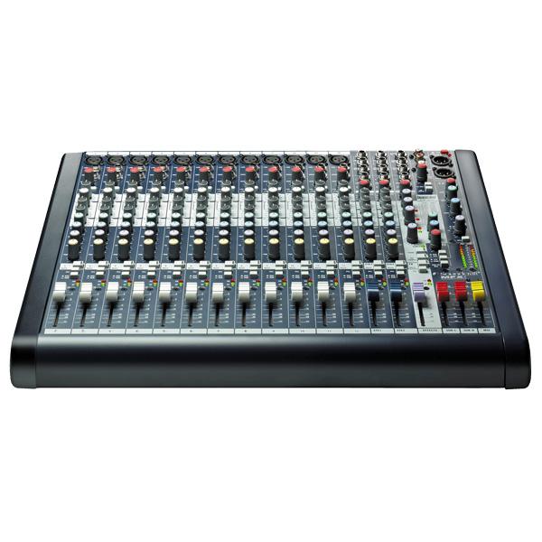 SOUNDCRAFT MFXi12 12 mono- ja 2 stereoka, discoland.fi