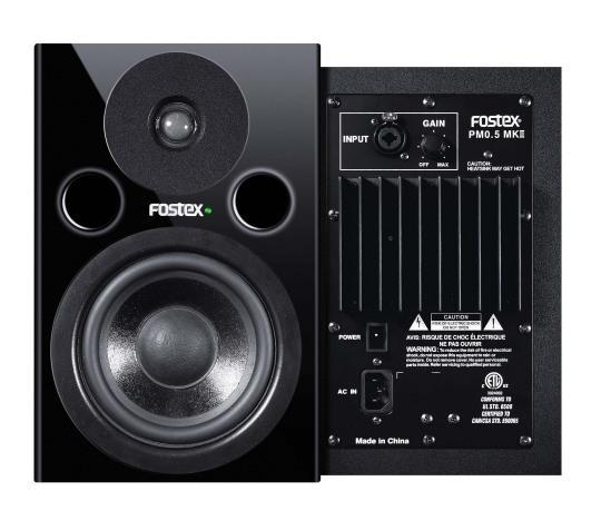 FOSTEX PM 0.5nb mkII Aktiivi studiomonit, discoland.fi