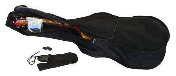 DIMAVERY AC-300 Klassinen Nylonkielinen Kitara, Classical Guitar 4/4, Spruce, Musta, akustinen kitara