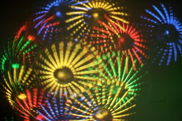 EUROHOUSE Rolling Flower, musiikkiohjautuva valoefekti 50W