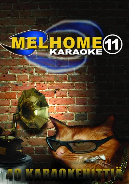 MELHOME Vol 11 KARAOKE DVD Levyll� on 40, discoland.fi
