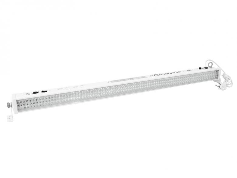 EUROLITE LED-parru LED Bar RGB 252 x 10mm indoor 40° white, sound-controlled or DMX, 12 channels, 30 W