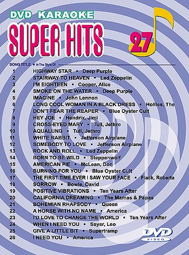 U-BEST Super Hits English Songs Vol. 27 , discoland.fi