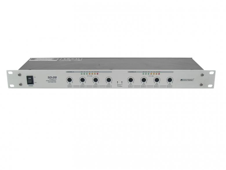 OMNITRONIC SD-28 on näppärä Audio sig, discoland.fi