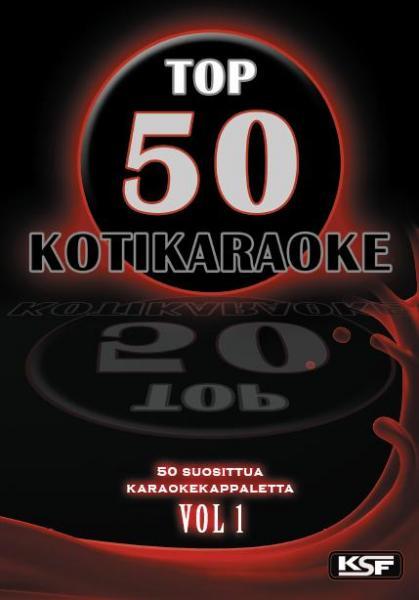 TOP50 TOP 50 - Kotikaraoke 1 DVD sisält, discoland.fi