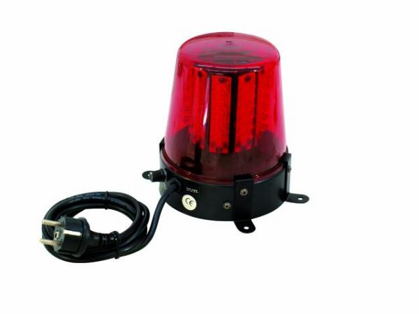 EUROLITE LED Poliisivalo punainen 108 lediä, Dip kytkimien avulla voit valita 6 kpl eri tyyppisiä pyörintä efektejä. 108 lediä antavat huippuluokan valotehon moniin tilanteisiin. Police Light 108 LEDs red! Mitat 165 x 150 x 180 mm sekä paino 1,0kg.