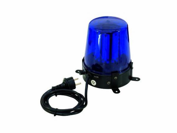 EUROLITE LED Poliisivalo Sininen 108 lediä, Dip kytkimien avulla voit valita 6 kpl eri tyyppisiä pyörintä efektejä. 108 lediä antavat huippuluokan valotehon moniin tilanteisiin. Police Light 108 LEDs blue! Mitat 165 x 150 x 180 mm sekä paino 1,0kg.