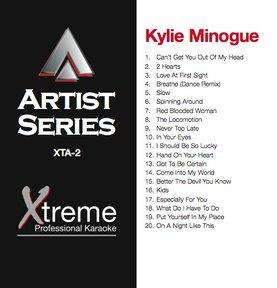 XTREME CD+G Xtreme Artist 2 - Kylie Mino, discoland.fi