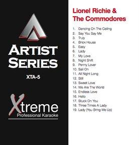 XTREME CD+G Xtreme Artist 5 - Lionel Ric, discoland.fi