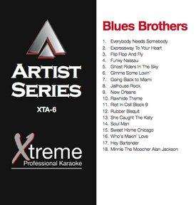 XTREME CD+G Xtreme Artist 6 - Blues Brothers!