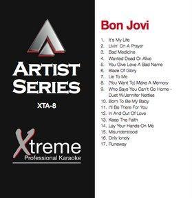 XTREME CD+G Xtreme Artist 8 - Bon Jovi, discoland.fi