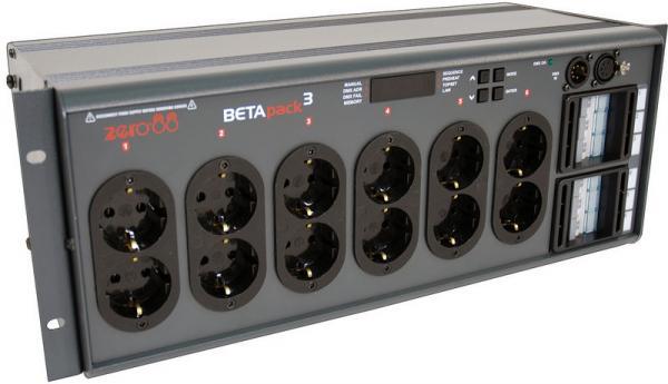ZERO88 Betapack 3 Power Pack, Shuko liit, discoland.fi