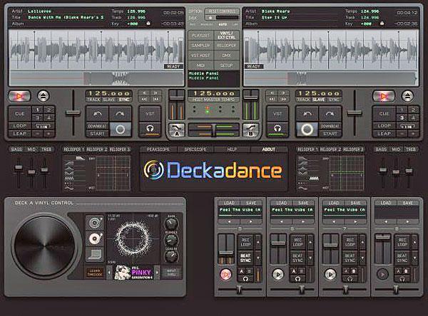 POISTO OMNITRONIC DJ-kontrolleri MMC-1 Interface + include Deckadance HOUSE Softa. Dj-soittolaite, jolla teet tietokoneestasi DJ-aseman. Todellinen HUIPPU DJ-paketti on varustettu kahdella dekillä, jolloin voit tietokonettasi hyödyntäen soittaa CD tyyppisesti filejä, joiden avulla voit luoda musiikkia ja järjestää huikeita bile-iltoja! Deckadance HOUSE avulla voit miksata helposti MP3-musiikkia 2 jog wheelillä tai käyttämällä crossfaderia. Deckadance on laadukas softa, joka on FL Studion valmistama ohjelma moniin eri interface paneeleihin! POISTO! Demo!