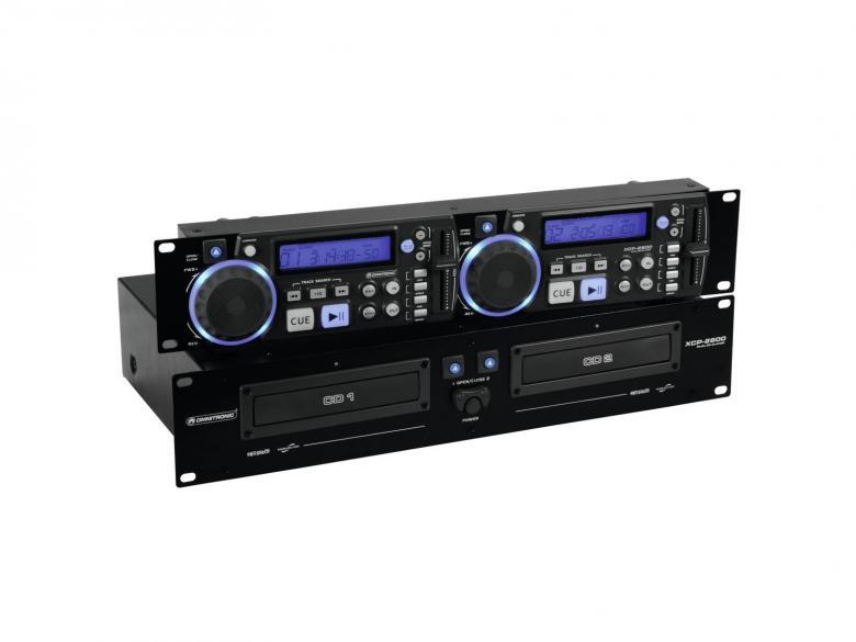 OMNITRONIC XCP-2800 Tupla CD-soitin, Soi, discoland.fi