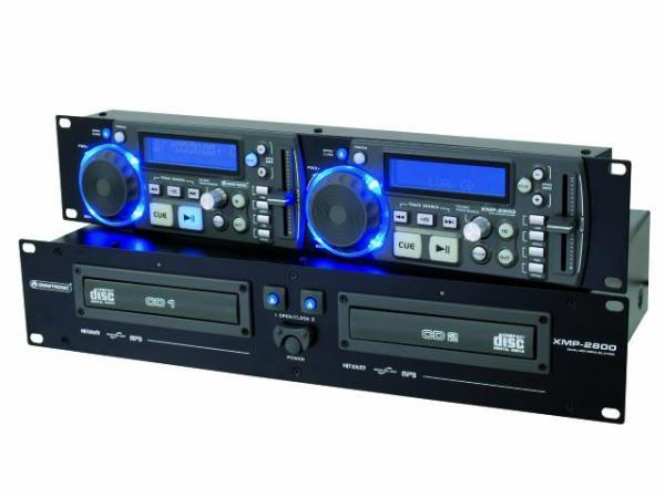 OMNITRONIC XMP-2800 tupla CD/ CD-R/CD-RW, discoland.fi