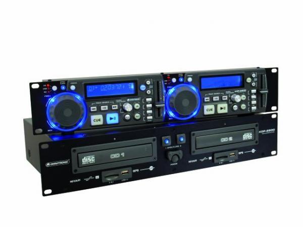 OMNITRONIC XDP-2800 tupla CD/ CD-R/CD-RW, discoland.fi