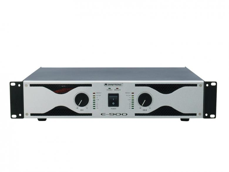 OMNITRONIC E-900 Päätevahvistin Amplif, discoland.fi