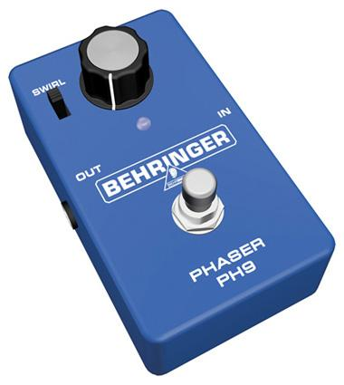 BEHRINGER PH9 Phaser, Introducing the Classic PHASER PH9 from BEHRINGER