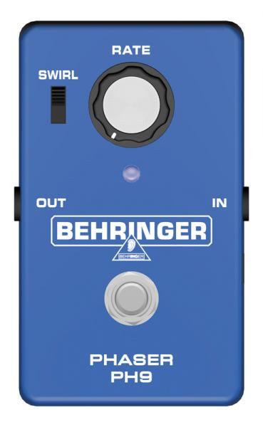 BEHRINGER PH9 Phaser, Introducing the Cl, discoland.fi