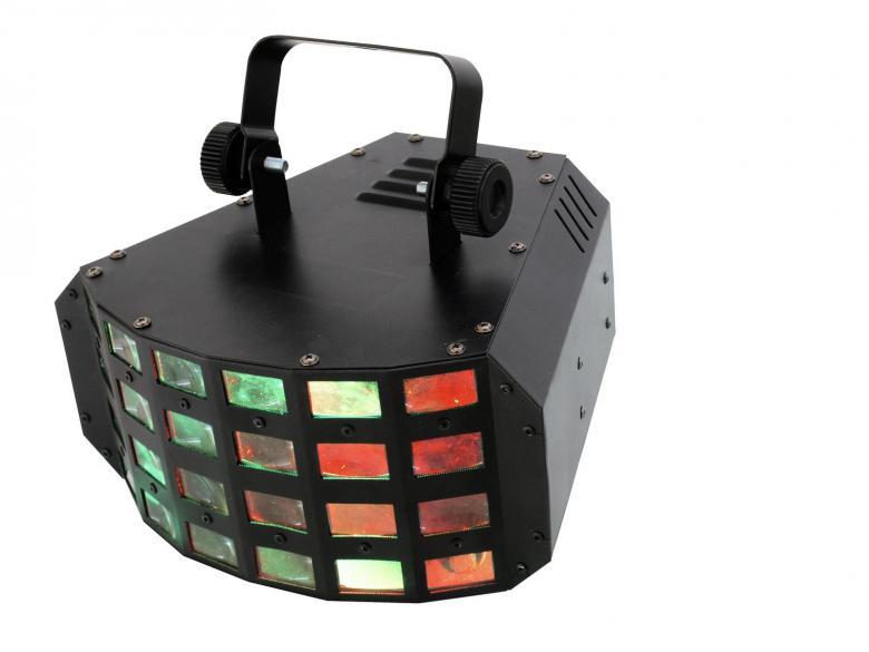 EUROLITE LED D-24 3x3W Derby LED Valoefe, discoland.fi
