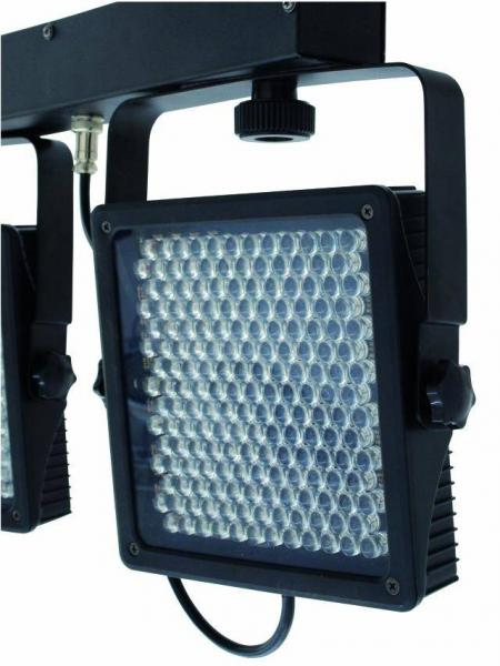 EUROLITE LED KLS-406 RGB DMX 6 spotin valosetti. KLS-Series.Keikkavalojen kuljettaminen ja kasaaminen ei ole koskaan ollut näin helppoa eikä näyttävyys tällä tasolla!  Kun vertaat etuja perinteiseen PAR-56 heittimeen, niin tässä sinulle sulateltavaa.