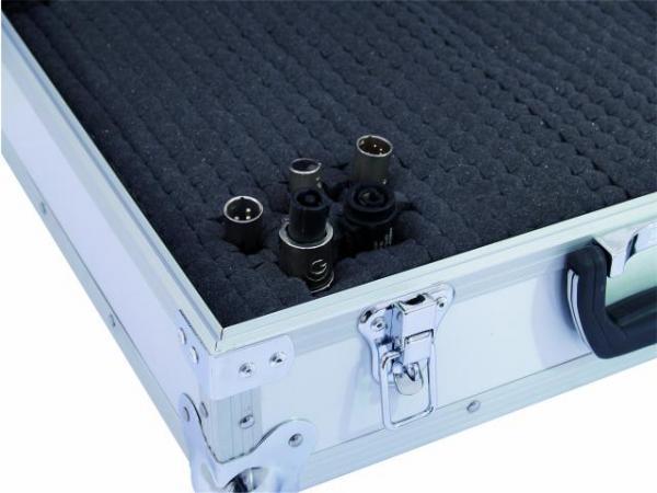 OMNITRONIC Universal-case FOAM alu big, highest protection when on-tour