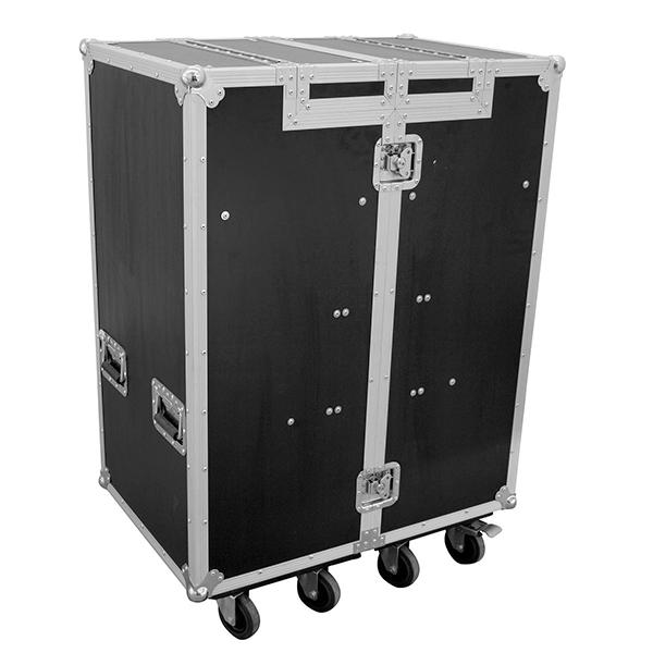 ROADINGER Kuljetuslaatikko DD-1 tupla vetolaatikostolla ja kaksi kuljetusalustaa pyörillä, yleiskäyttöön.