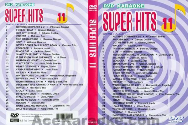 U-BEST Super Hits English Songs Vol. 11 , discoland.fi