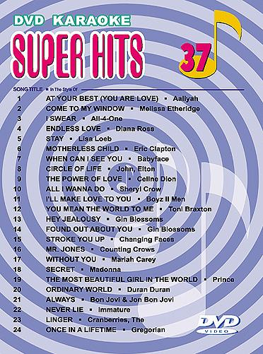 U-BEST Super Hits English Songs Vol. 37 , discoland.fi