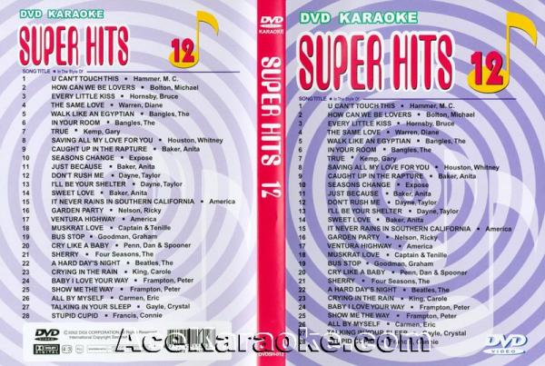 U-BEST Super Hits English Songs Vol. 12 , discoland.fi