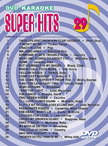 U-BEST Super Hits English Songs Vol. 29 , discoland.fi
