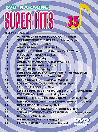 U-BEST Super Hits English Songs Vol. 35 , discoland.fi