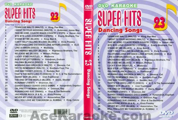 U-BEST Super Hits English Songs Vol. 23 , discoland.fi