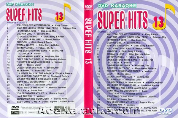 U-BEST Super Hits English Songs Vol. 13 , discoland.fi