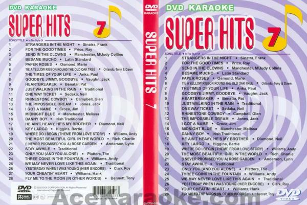 U-BEST Super Hits English Songs Vol. 7 D, discoland.fi