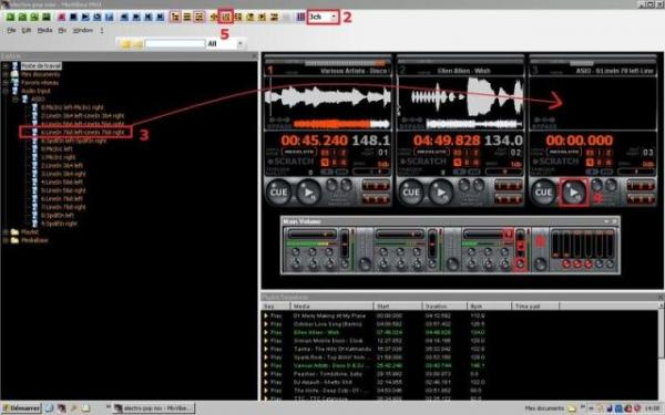 MIXVIBES MixVibes Home Edition 7, Koti DJ-softa USB audioadapteri mukana, audio adapter including DJ software! sisältää mixvibes dj softan sekä USB tikun jolla voi esikuunnella miksausta!