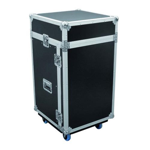 OMNITRONIC Special Combo Case LS4 17U, Professional flight case for 483 mm units (19