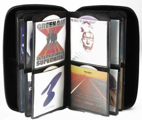 SLAPPA 160 Hardbody kuljetuscase CD PRO, 160 kpl CD levyille PRO CD camel design