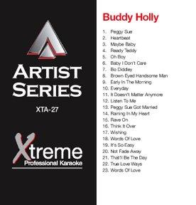 XTREME CD+G Xtreme Artist 027 - Buddy Holly