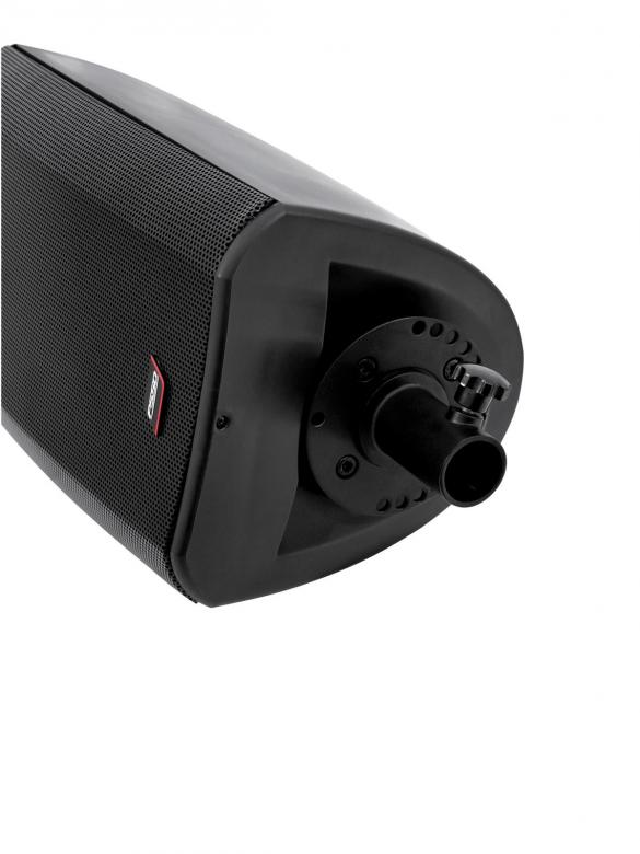 PSSO CSA-218B Kompakti array passiivikaiutin, voidaan käyttää myös telineessä. 150W RMS, 300W, äänenpaine SPL 113 dB, 2x 8