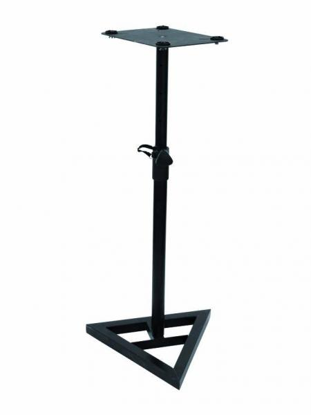 EUROLITE Monitori kaiutinteline, Monitorstand MO-2 black height adjustable,