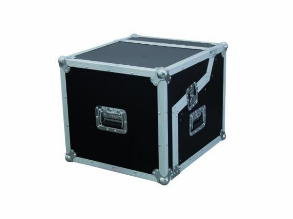 OMNITRONIC Kuljetuslaatikko. Special mixer/CD player case 3/7/6 U, Professional flight case for 483mm units (19