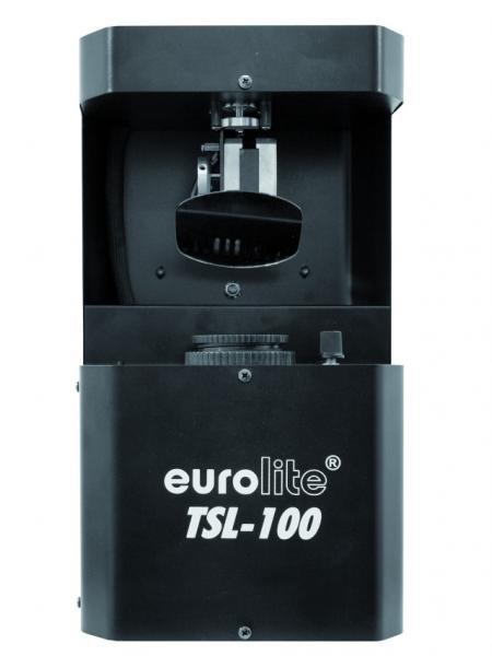 EUROLITE LED Scan TSL-100 20W DMX , korkealaatuinen LED Scan valoefekti, tyylikkäät Gobot ja upea valoteho!Tämä valoefekti on loistava valinta pieneen discoon musiikkipubiin sekä liikkuvalle tiskijukalle.Voit ohjata tätä laitetta EUROLITE RC-1 remote controllilla ja linkittää siihen enemmän scaneja.Myös kaikki yleiset DMX ohjaimet ovat käypiä!