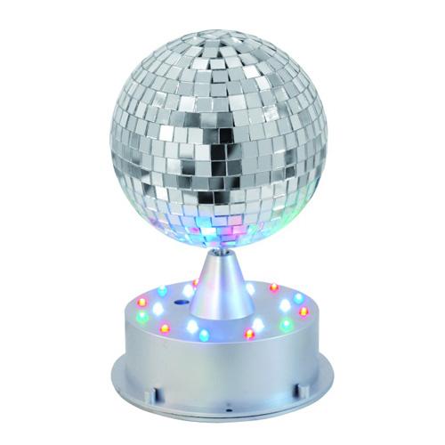 EUROLITE LED peilipallo 13cm valolla sek, discoland.fi