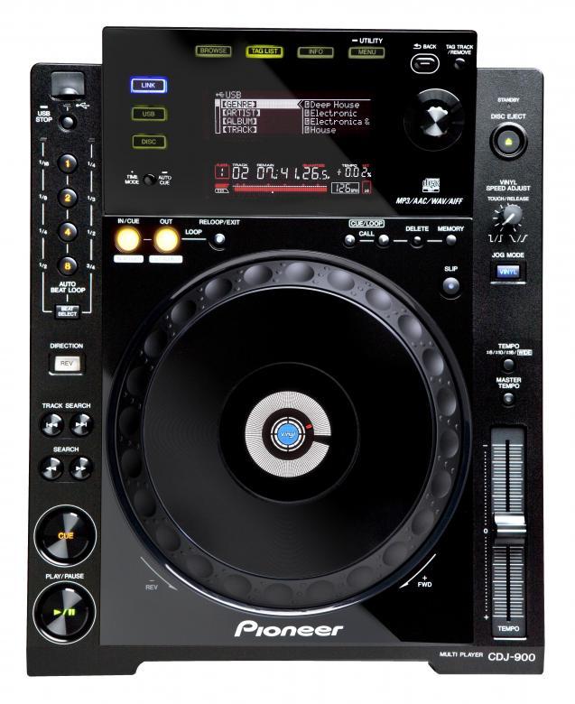 PIONEER CDJ-900 Uusi multiformaattisoitin digiaikaan ja siihen kuuluu monia jaettuja ominaisuuksia Dj CD-player, MP3, PRO-DJ-Tuote!. CDJ-900 Siihen kuuluu lisäksi vallankumouksellinen musiikkitietokannan hallintaohjelma DJ-työskentelyä varten: rekordbox™. Rekordbox-nauhoitusyksikkö perustuu Prepare & Perform-konseptiimme (sekä Mac että PC) ja toimii johtavien musiikkitietokantojen hallintaohjelmien tavoin tarjoten kuitenkin paremmat mahdollisuudet luovuuteen. Lisäksi sitä on aiempia laitteita helpompi käyttää
